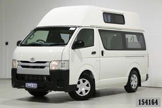 2016 Toyota HiAce TRH201R MY16 LWB White 6 Speed Automatic Van.