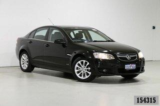 2010 Holden Berlina VE II Dual Fuel Black 4 Speed Automatic Sedan.