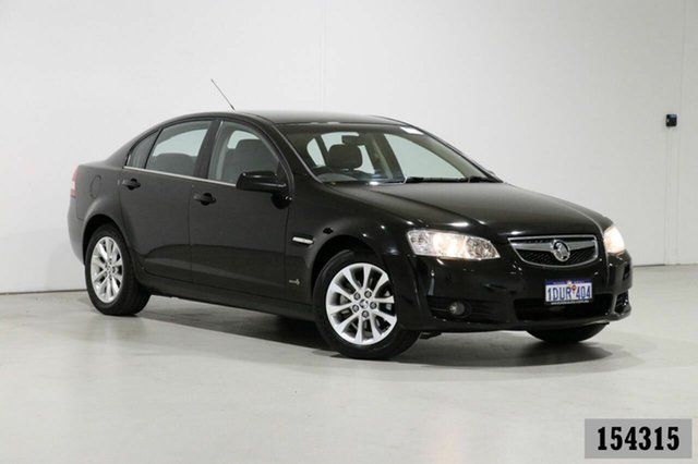 Used Holden Berlina VE II Dual Fuel Bentley, 2010 Holden Berlina VE II Dual Fuel Black 4 Speed Automatic Sedan