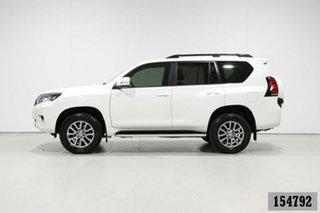 2019 Toyota Landcruiser Prado GDJ150R MY18 VX (4x4) Pearl White 6 Speed Automatic Wagon