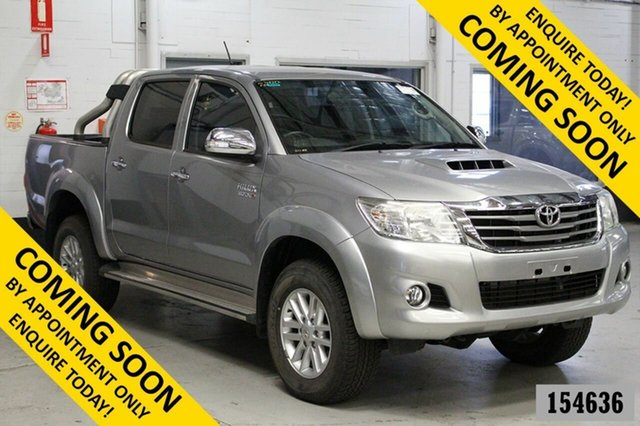 Used Toyota Hilux KUN26R MY14 SR5 (4x4) Bentley, 2015 Toyota Hilux KUN26R MY14 SR5 (4x4) Silver 5 Speed Manual Dual Cab Pick-up