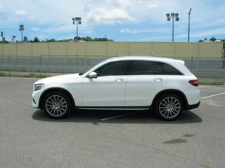 2018 Mercedes-Benz GLC350D 253 MY18 White 9 Speed Automatic Wagon
