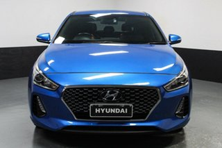 2017 Hyundai i30 PD MY18 SR D-CT Blue 7 Speed Sports Automatic Dual Clutch Hatchback.