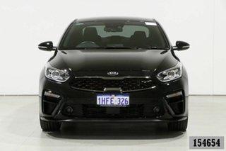 2019 Kia Cerato BD MY19 GT Safety Pack Black 7 Speed Auto Dual Clutch Sedan.