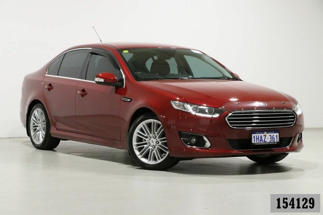 Used Ford Falcon FG X G6E Bentley, 2015 Ford Falcon FG X G6E Burgundy 6 Speed Automatic Sedan