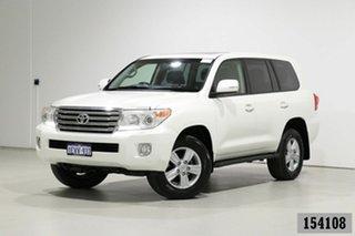 2013 Toyota Landcruiser URJ202R MY13 VX (4x4) White 6 Speed Automatic Wagon.