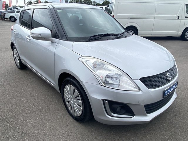 Used Suzuki Swift FZ MY14 GL Navigator Cardiff, 2014 Suzuki Swift FZ MY14 GL Navigator Silver 5 Speed Manual Hatchback