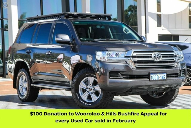 Used Toyota Landcruiser VDJ200R GXL Attadale, 2016 Toyota Landcruiser VDJ200R GXL Grey 6 Speed Sports Automatic Wagon