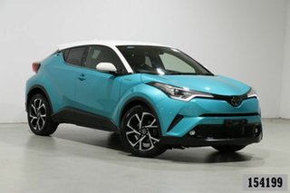 2019 Toyota C-HR NGX10R Update Koba (2WD) Aqua Continuous Variable Wagon.