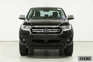 2018 Ford Ranger PX MkIII MY19 XLT 2.0 (4x4) Black 10 Speed Automatic Double Cab Pick Up.