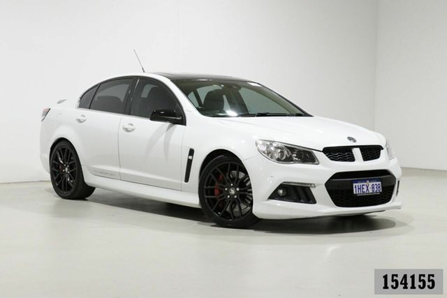 Used Holden Special Vehicles ClubSport Gen F R8 Bentley, 2014 Holden Special Vehicles ClubSport Gen F R8 White 6 Speed Auto Active Sequential Sedan