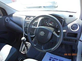 2015 Suzuki Celerio LF White Continuous Variable Hatchback