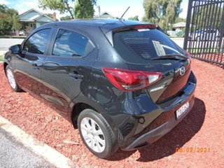 2015 Mazda 2 DJ Neo Black Metallic 6 Speed Automatic Hatchback