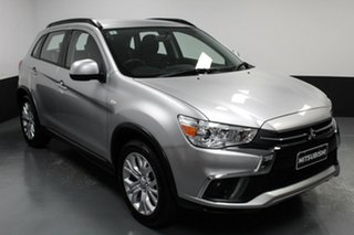 2019 Mitsubishi ASX XC MY19 ES 2WD ADAS Silver 1 Speed Constant Variable Wagon.