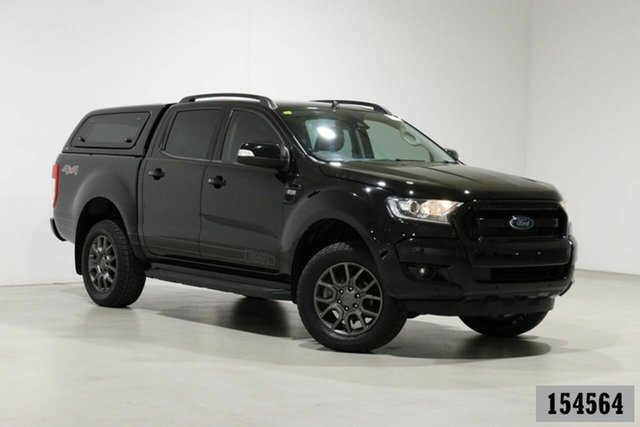 Used Ford Ranger PX MkII MY17 FX4 Special Edition Bentley, 2017 Ford Ranger PX MkII MY17 FX4 Special Edition Black 6 Speed Automatic Double Cab Pick Up