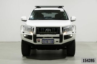 2015 Toyota Landcruiser Prado GDJ150R MY16 GXL (4x4) White 6 Speed Automatic Wagon.