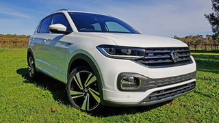 2020 Volkswagen T-Cross C1 MY21 85TSI DSG FWD Style Pure White 7 Speed Sports Automatic Dual Clutch
