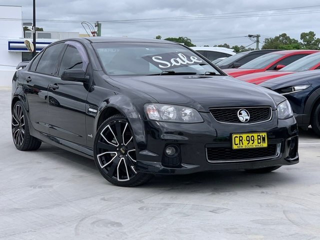 Used Holden Commodore VE II SV6 Liverpool, 2011 Holden Commodore VE II SV6 Black 6 Speed Sports Automatic Sedan