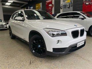 2013 BMW X1 E84 LCI sDrive20i White Sports Automatic Wagon.