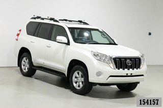 2014 Toyota Landcruiser Prado KDJ150R MY14 Altitude (4x4) Crystal Pearl 5 Speed Sequential Auto