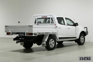 2015 Holden Colorado RG MY15 LS (4x2) White 6 Speed Automatic Crew Cab Chassis