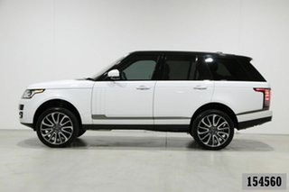 2016 Land Rover Range Rover LG MY16 Autobiography SDV8 White 8 Speed Automatic Wagon