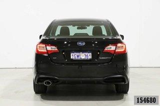 2019 Subaru Liberty MY19 2.5I Black Continuous Variable Sedan