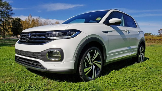 New Volkswagen T-Cross C1 MY21 85TSI DSG FWD Style Tanunda, 2020 Volkswagen T-Cross C1 MY21 85TSI DSG FWD Style Pure White 7 Speed Sports Automatic Dual Clutch
