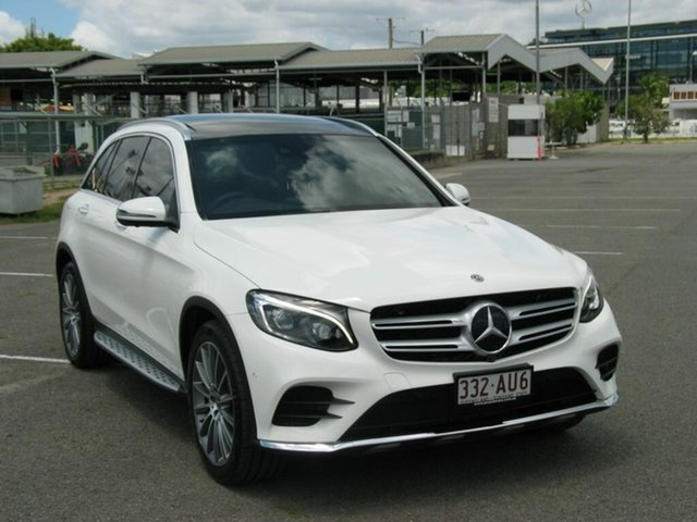 Used Mercedes-Benz GLC350D 253 MY18 Albion, 2018 Mercedes-Benz GLC350D 253 MY18 White 9 Speed Automatic Wagon
