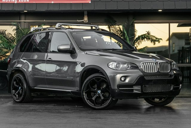 Used BMW X5 E70 MY10 xDrive35d Steptronic Bowen Hills, 2009 BMW X5 E70 MY10 xDrive35d Steptronic Grey 6 Speed Sports Automatic Wagon