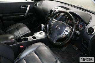 2012 Nissan Dualis J10 Series II TI (4x2) Black 6 Speed CVT Auto Sequential Wagon