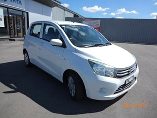 2015 Suzuki Celerio LF White Continuous Variable Hatchback