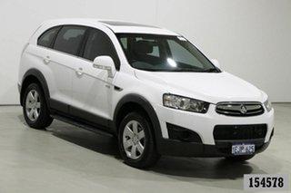 2013 Holden Captiva CG MY12 7 SX (FWD) White 6 Speed Automatic Wagon