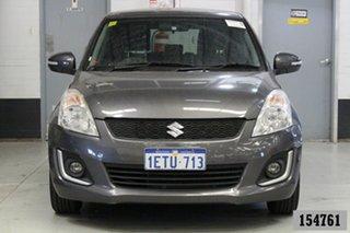 2015 Suzuki Swift FZ MY14 GL Navigator Grey 5 Speed Manual Hatchback.