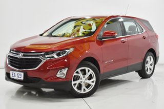 2019 Holden Equinox EQ MY18 LT FWD Red/Black 9 Speed Sports Automatic Wagon.