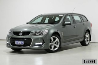 2015 Holden Commodore VF II SV6 Grey 6 Speed Automatic Sportswagon.