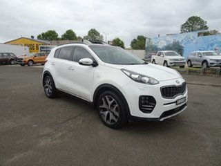 2018 Kia Sportage QL MY18 GT-Line AWD White 6 Speed Sports Automatic Wagon