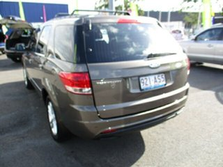 2012 Ford Territory SZ Brown 4 Speed Automatic Wagon