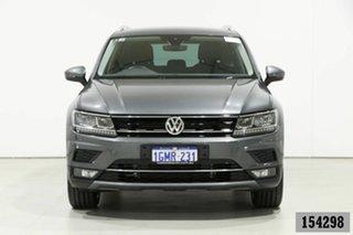 2018 Volkswagen Tiguan 5NA MY18 162 TSI Sportline Grey 7 Speed Auto Direct Shift Wagon.