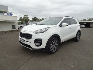 2018 Kia Sportage QL MY18 GT-Line AWD White 6 Speed Sports Automatic Wagon.