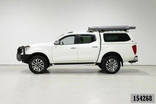 2015 Nissan Navara NP300 D23 ST-X (4x4) White 7 Speed Automatic Dual Cab Utility
