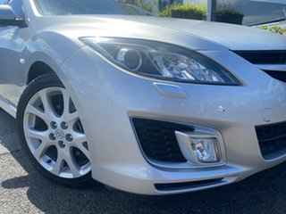 2008 Mazda 6 GH1051 Luxury Sports Silver 5 Speed Sports Automatic Hatchback.