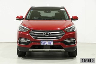 2016 Hyundai Santa Fe DM Series II (DM3)MY17 Highlander CRDi (4x4) Red 6 Speed Automatic Wagon.