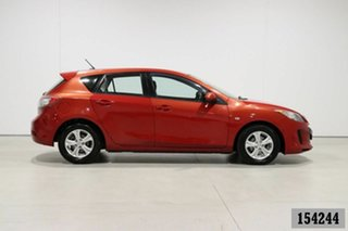 2012 Mazda 3 BL 11 Upgrade Neo Red 5 Speed Automatic Hatchback