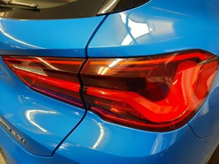 2017 BMW X2 F39 sDrive20i Coupe DCT Steptronic M Sport Blue 7 Speed Sports Automatic Dual Clutch