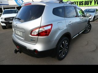 2013 Nissan Dualis J10 Series 3 +2 TI-L (4x4) Silver 6 Speed CVT Auto Sequential Wagon