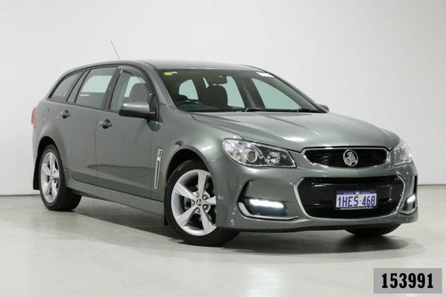 Used Holden Commodore VF II SV6 Bentley, 2015 Holden Commodore VF II SV6 Grey 6 Speed Automatic Sportswagon