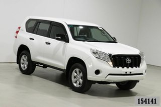 2014 Toyota Landcruiser Prado KDJ150R MY14 GX (4x4) White 5 Speed Sequential Auto Wagon