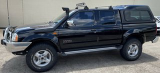 2006 Nissan Navara D22 S2 ST-R Black 5 Speed Manual Utility.