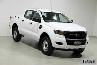 2017 Ford Ranger PX MkII MY17 Update XL 2.2 Hi-Rider (4x2) White 6 Speed Automatic Crew Cab Pickup